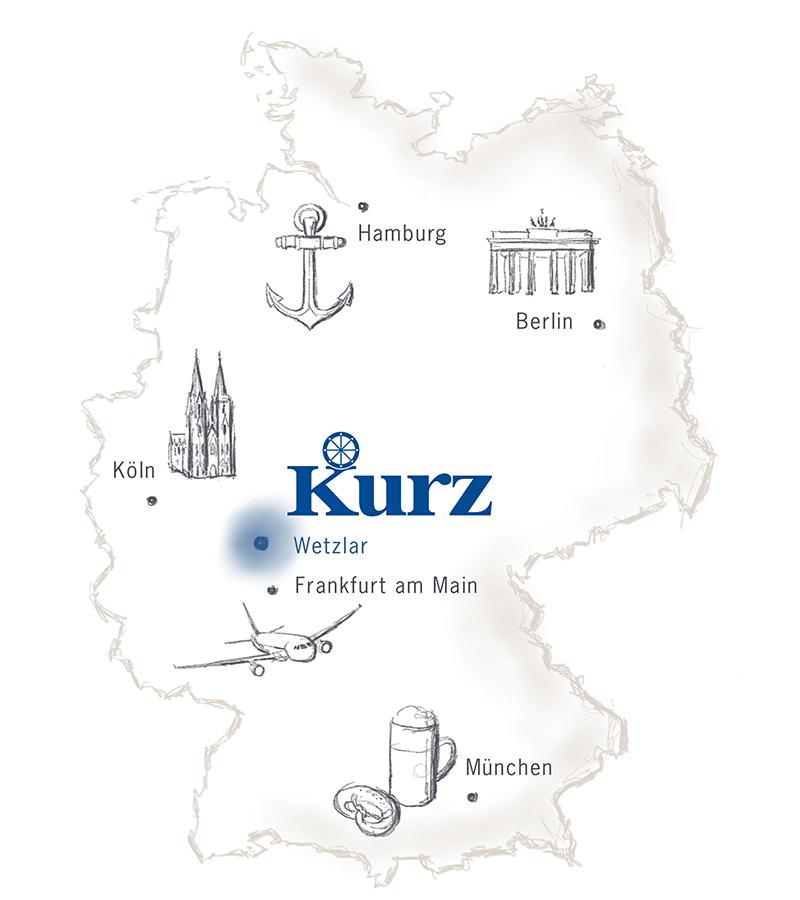 Kurz-Gruppe - Logistik-Dienstleister mit Sitz in Wetzlar